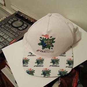 Mtn dew kick start x nick splat snapback hat